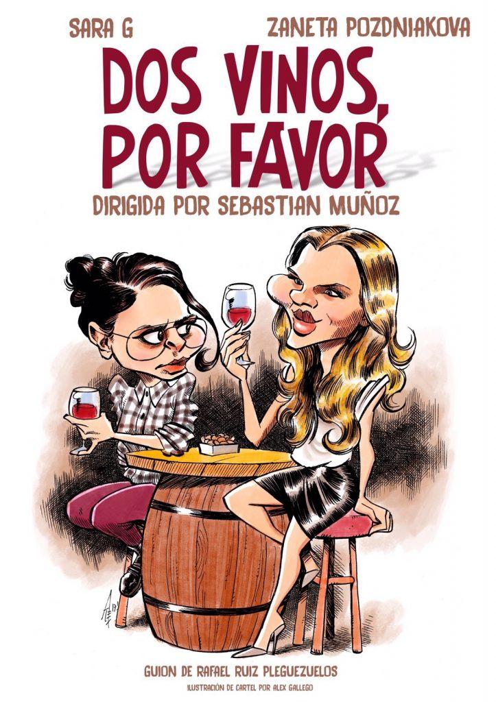 Dos vinos, por favor